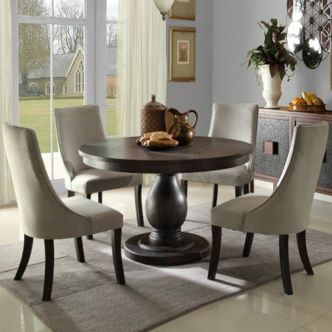 Homelegance Dandelion 5 Piece Pedestal Dining Room Set