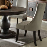 Homelegance Dandelion Side Chair in Gray Fabric