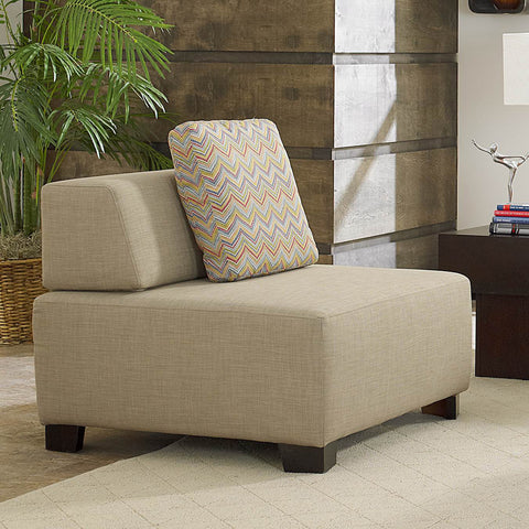 Homelegance Darby Chair in Oatmeal Fabric