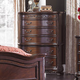 Homelegance Deryn Park 6 Drawer Chest in Cherry