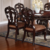Homelegance Deryn Park Side Chair in Cherry