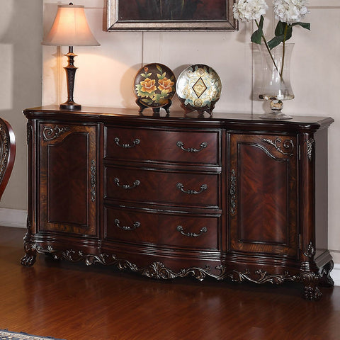 Homelegance Deryn Park Sideboard in Cherry