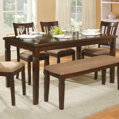 Homelegance Devlin Rectangular Dining Table in Espresso