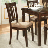 Homelegance Devlin Side Chair in Espresso