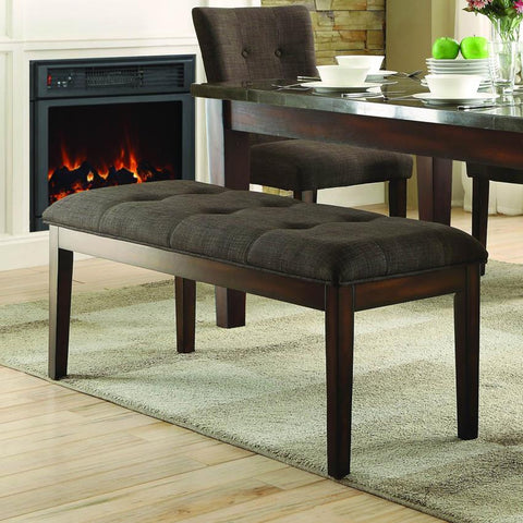 Homelegance Dorritt 49 Inch Bench in Cherry