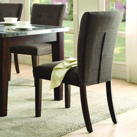 Homelegance Dorritt Side Chair in Cherry