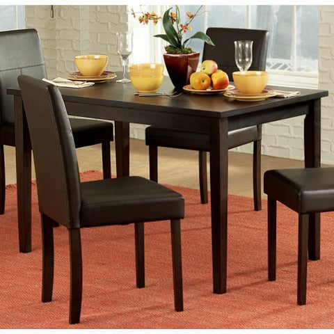 Homelegance Dover Rectangular Dining Table in Espresso
