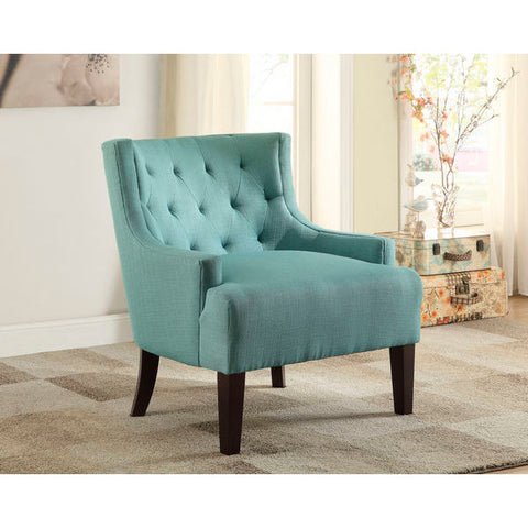 Homelegance Dulce Accent Chair In Teal