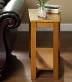 Homelegance Elwell Chairside Table w/ Shelf
