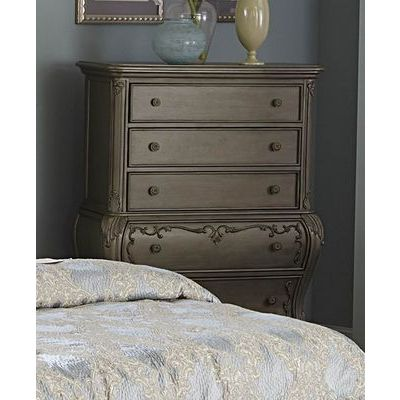 Homelegance Florentina Chest In Silver