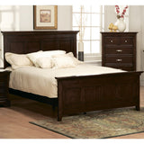 Homelegance Glamour 4 Piece Panel Bedroom Set in Espresso