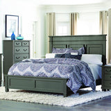 Homelegance Granbury Platform Bed in Casual Grey Rub-Through