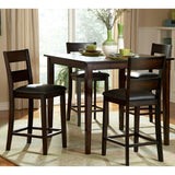 Homelegance Griffin 5 Piece Counter Dining Room Set in Deep Espresso