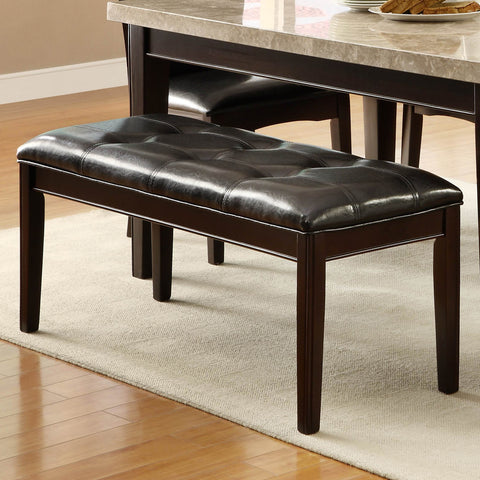 Homelegance Hahn 49 Inch Bench in Espresso