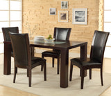 Homelegance Hahn Side Chair in Espresso
