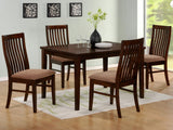 Homelegance Hale 48 Inch Rectangular Dining Table in Medium Brown