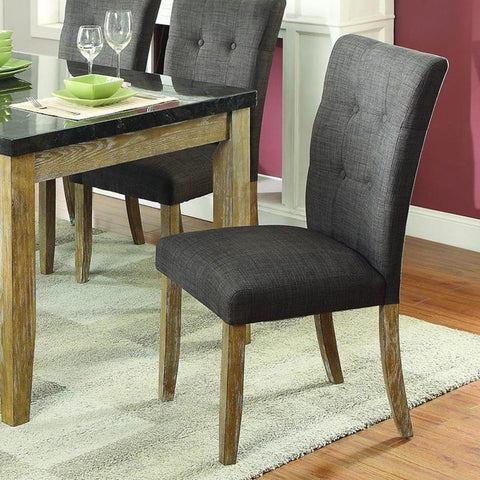 Homelegance Huron Side Chair in Light Oak