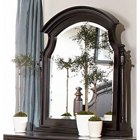 Homelegance Inglewood Swivel Mirror in Cherry