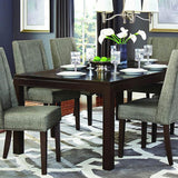 Homelegance Kavanaugh Rectangular Dining Table in Dark Brown
