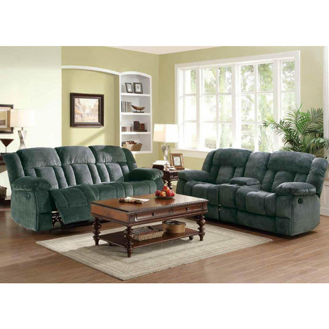 Homelegance Laurelton 2 Piece Double Reclining Living Room Set