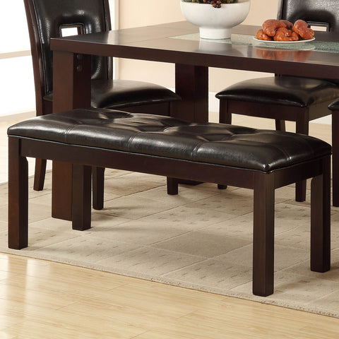 Homelegance Lee 49 Inch Bench in Espresso