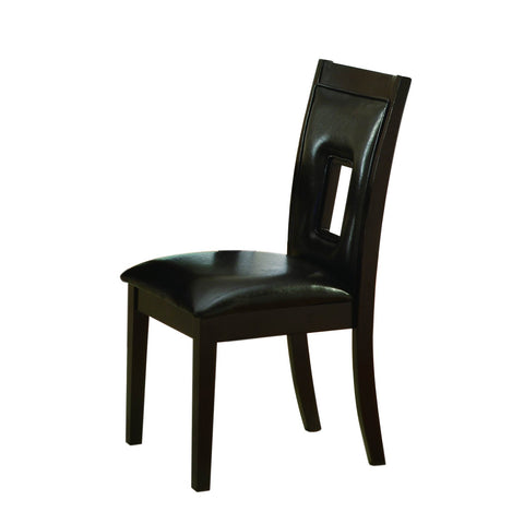 Homelegance Lee Side Chair in Espresso