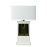 Homelegance Lucca Table Lamp in White