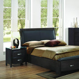 Homelegance Lyric 3 Piece Sleigh Platform Bedroom Set in Brownish Grey