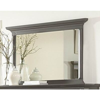 Homelegance Marceline Mirror In Striking Grey