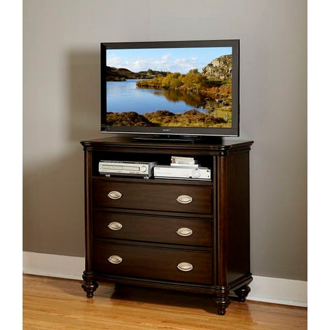 Homelegance Marston TV Chest In Espresso