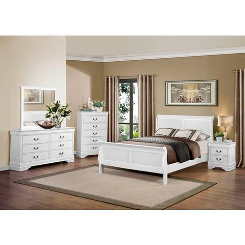 Homelegance Mayville 5 Piece Set In White