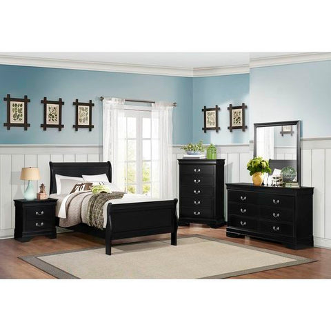 Homelegance Mayville Bed In Black