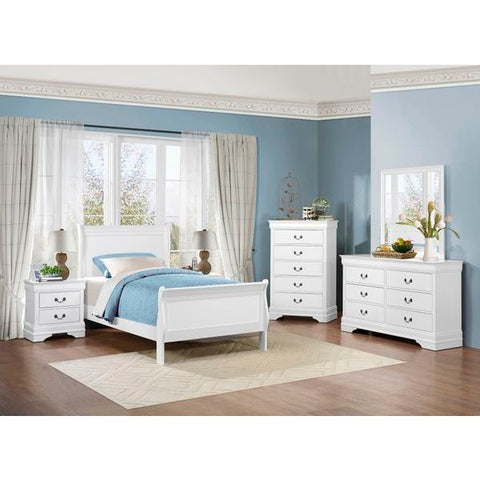 Homelegance Mayville Bed In White