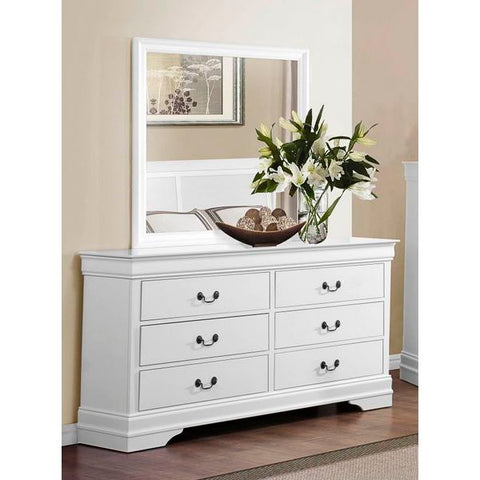 Homelegance Mayville Dresser In White