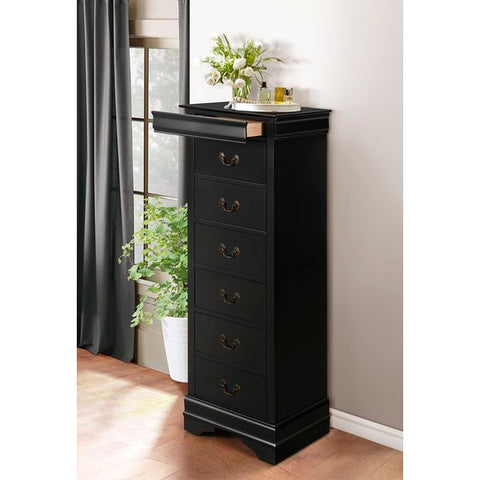 Homelegance Mayville Lingerie Chest In Black