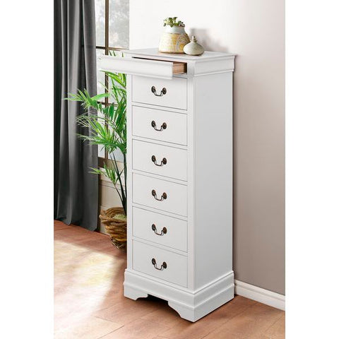 Homelegance Mayville Lingerie Chest In White