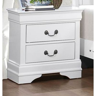 Homelegance Mayville Night Stand In White