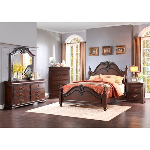 Homelegance Mont Belvieu 5 Piece Set In Cherry