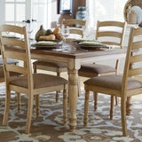 Homelegance Nash Rectangular Extension Dining Table in Oak