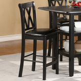 Homelegance Norman 5 Piece Counter Dining Room Set w/ Storage Base