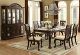 Homelegance Norwich 7 Piece Dining Room Set in Warm Cherry