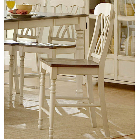Homelegance Ohana Counter Height Chair in White