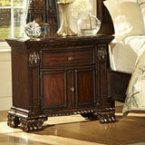 Homelegance Orleans 2 Piece Poster Bedroom Set in Rich Cherry