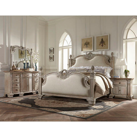 Homelegance Orleans II 4Pc Set In White Wash