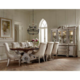Homelegance Orleans II Dining Table In White Wash