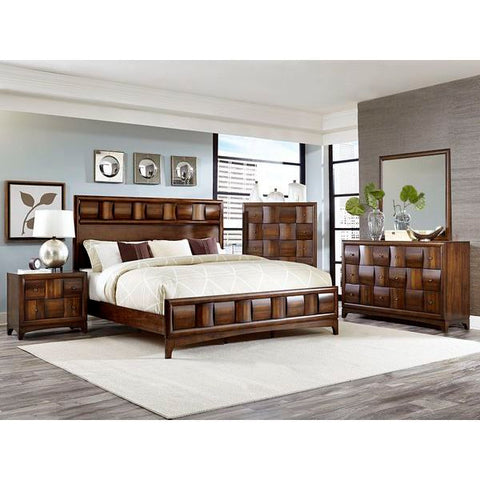 Homelegance Porter 5 Piece Set In Walnut