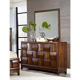 Homelegance Porter Dresser In Walnut