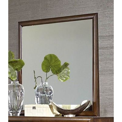 Homelegance Porter Mirror In Walnut
