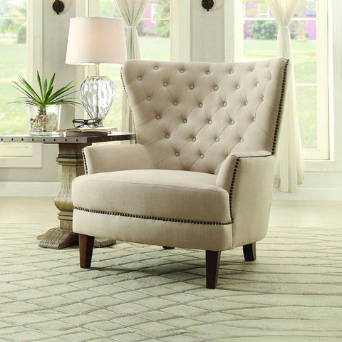 Homelegance Rhett Accent Chair in Beige