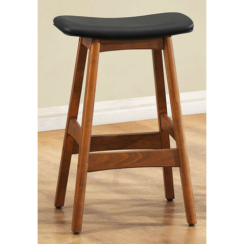 Homelegance Ride Counter Height Stool w/ Black Seat